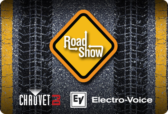 2019 CHAUVET DJ and Electro-Voice Road Show