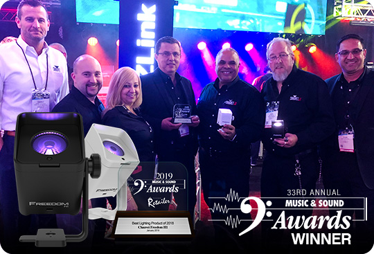 Freedom H1 is the Best Lighting Product of the Year!