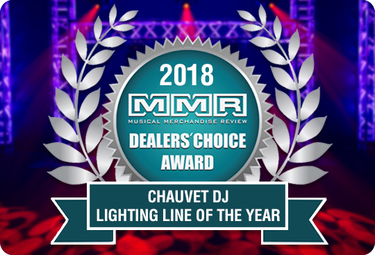 Thank You For Making CHAUVET DJ 2018 Lighting Line Of The Year!