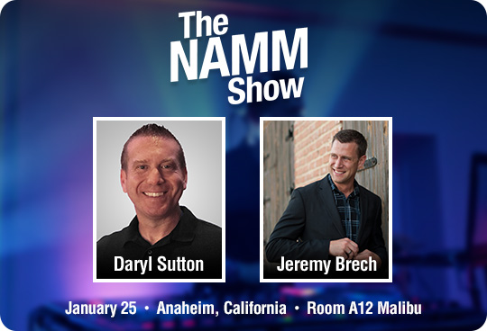 Learn with CHAUVET DJ at NAMM!