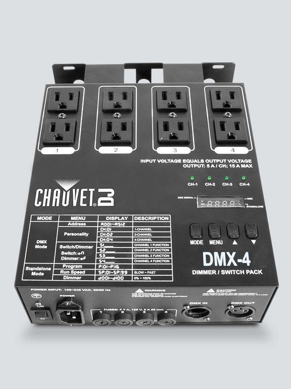 Dmx 4 Chauvet Dj