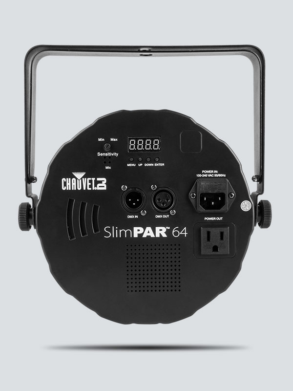 SlimPAR 64 | CHAUVET DJ on a schematic circuit, ups battery diagram, a schematic drawing, layout diagram, template diagram, circuit diagram, ic schematic diagram, simple schematic diagram, as is to be diagram,