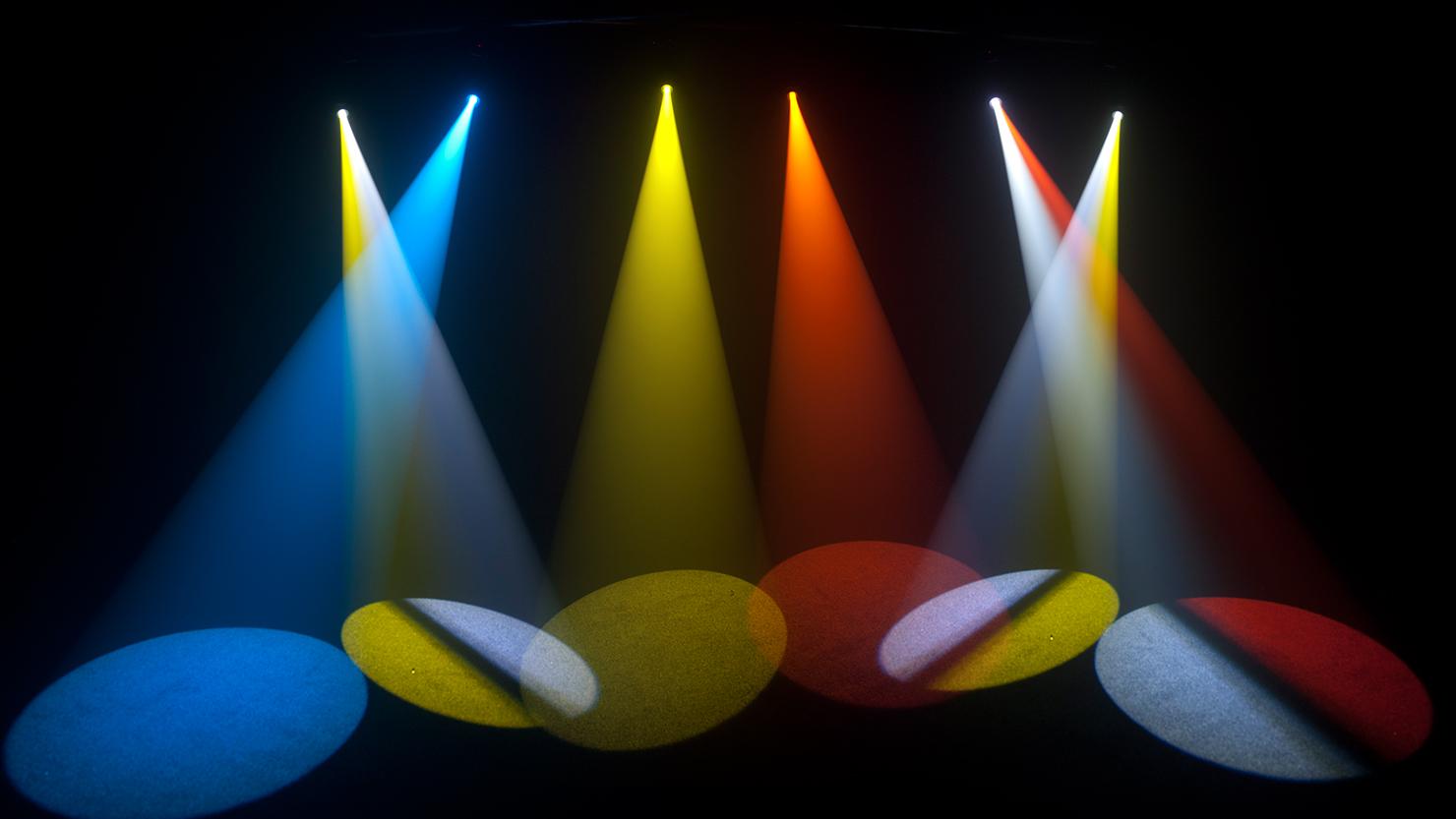 Spot led beautiful american dj super spot led effect shot - Spot exterieur encastrable orientable ...