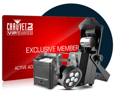 Chauvet VIP Rewards