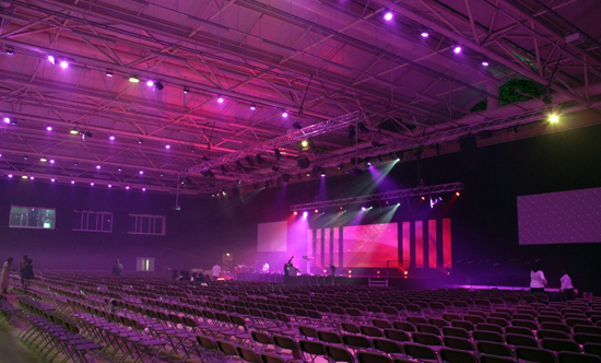 Chauvet Lights Kicc Prayer City Chauvet Dj