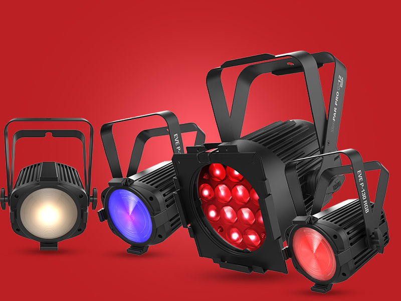 CHAUVET DJ lighting, controllers and accessories