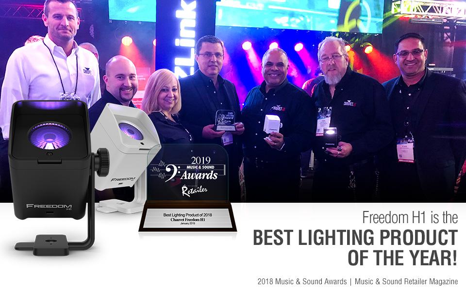 Msr Magazine Names Chauvet Dj Freedom H1 Best Lighting Product Of 2018 Chauvet Dj